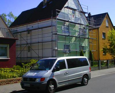 Schön anzusehende Fassaden dank Malermeister Arnold